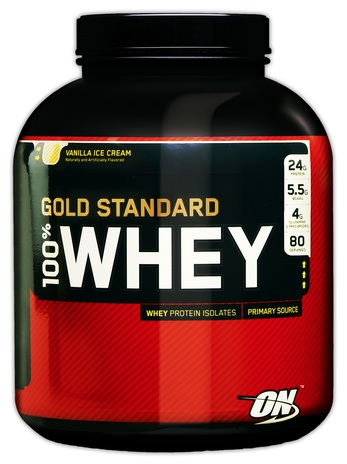 Gold Standard 100% Whey производства Optimum Nutrition