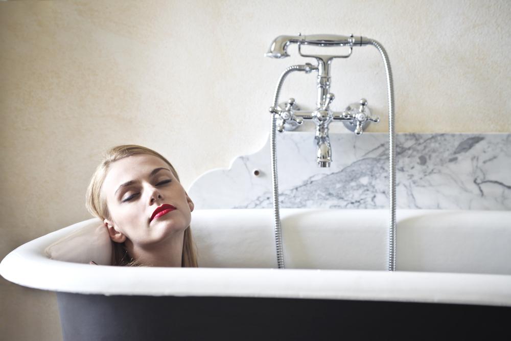 Холодная похудение ванна