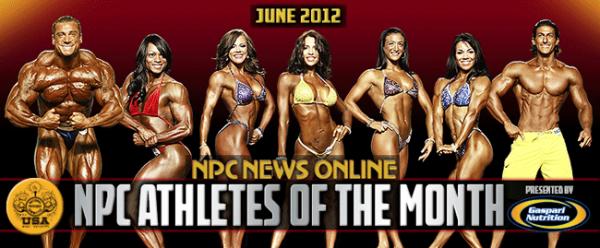 NPC и Gaspari Nutrition объявили атлетов NPC June-2012
