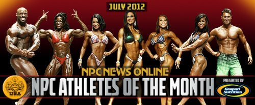 Объявлены атлеты NPC July-2012