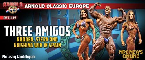 Результаты 2012 Arnold Classic Europe