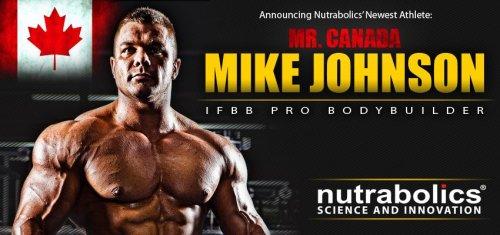 Nutrabolics заключили соглашение с Майком Джонсоном