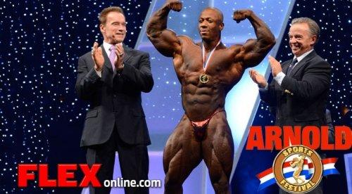 Шон Роден не будет участвовать в Arnold Classic 2013