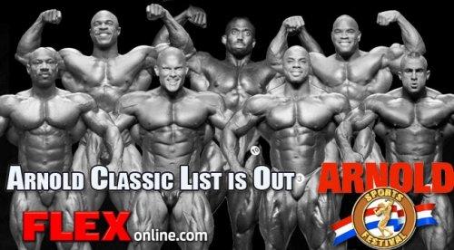Опубликован список приглашенных на Arnold Classic 2013