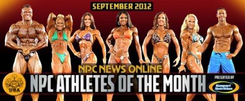NPC объявил атлетов месяца Sept 2012