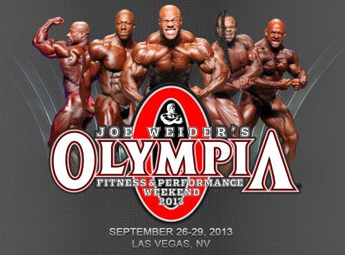 Условия для претендентов на Olympia-2013