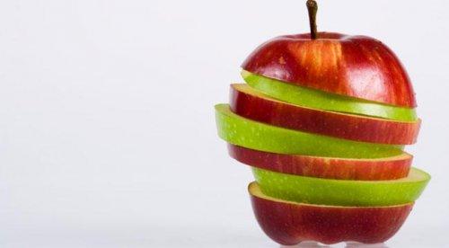 Приобрести рельеф поможет обыкновенное яблоко!
