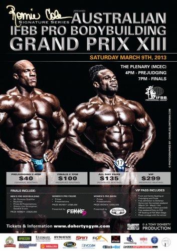 Информация о соревновании 2013 Australian Pro
