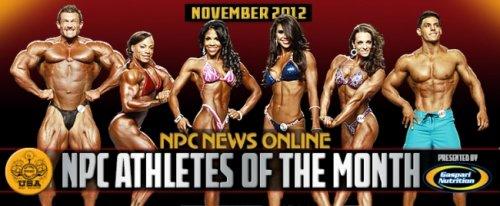 NPC и Gaspari объявили атлетов-победителей ноября