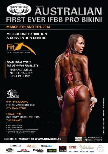 Опубликован список участников 2013 Australian Pro