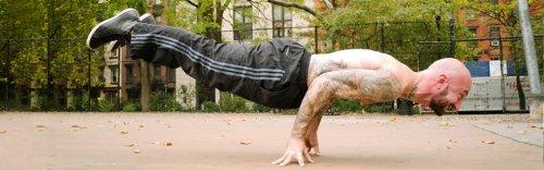 Аль Кавадло: базовые упражнения отжиманий