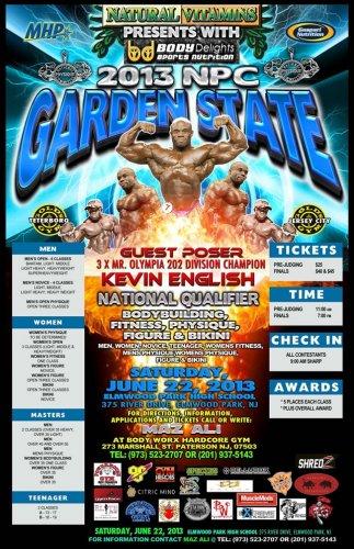 Информация о 2013 NPC Garden State