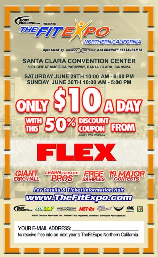 Самое большое мероприятие FitExpo в Калифорнии!