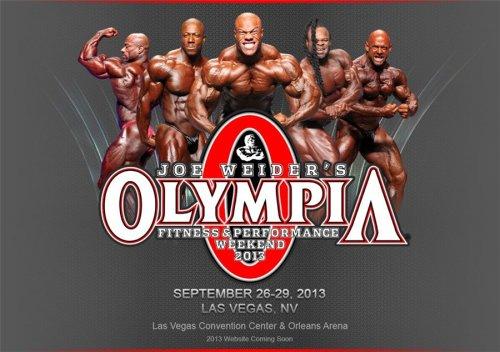 Изменено место проведения IFBB Olympia Weekend 2013
