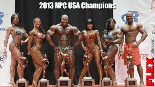 Результаты и обзор 2013 NPC USA Championship