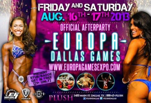 Информация о IFBB Europa Supershow Dallas 2013