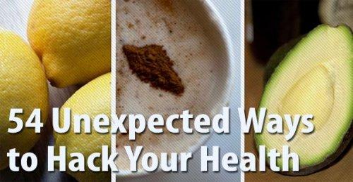 Необычные способы, чтобы улучшить здоровье
