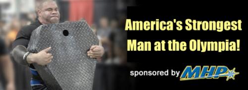 Афиша 2013 MHP America's Strongest Man