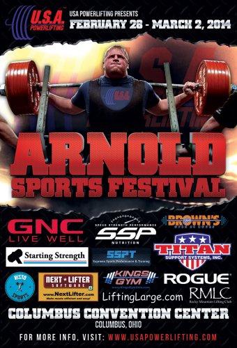 Расписание семинаров Arnold Sports Festival 2014
