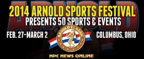 Расписание 2-го и 3-го дня Arnold Sports Festival 2014