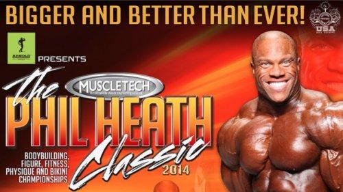 Результаты и отчет с Phil Heath Classic 2014
