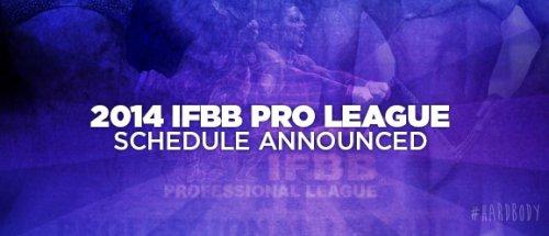Обновленное расписание турниров по бодибилдингу 2014