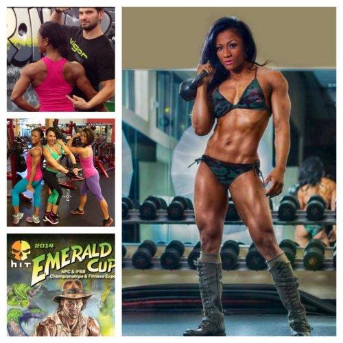 Танджи Джонсон перешла в категорию «Women's Physique»