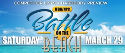 Анонс и список участников 2014 IFBB Battle on The Beach