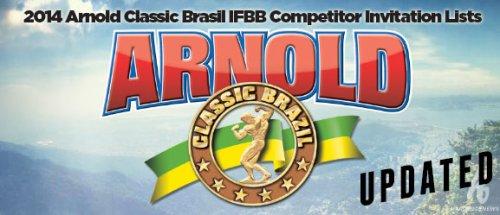 Обновленный список участников Arnold Classic Brazil 2014