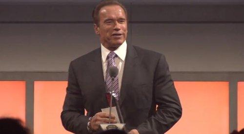 Шварценеггер получил награду «Lifetime Action Hero»
