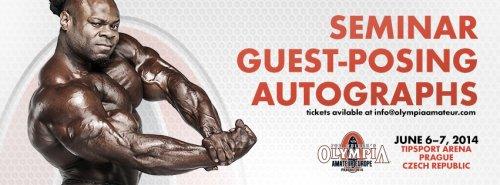 Семинар Кая Грина для Olympia Amateur пройдет в июне