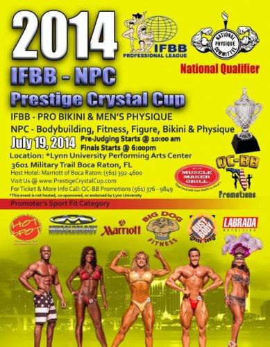 Афиша шоу 2014 Prestige Crystal Cup Pro
