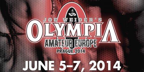 Анонс OLYMPIA AMATEUR EUROPE 2014