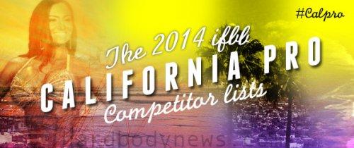 Список конкурсанток 2014 IFBB California Pro Figure