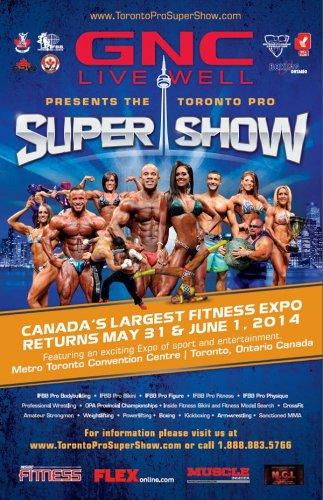 Детали проведения Toronto Pro SuperShow 2014
