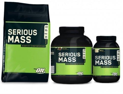 Преимущества гейнера Optimum Nutrition Serious Mass