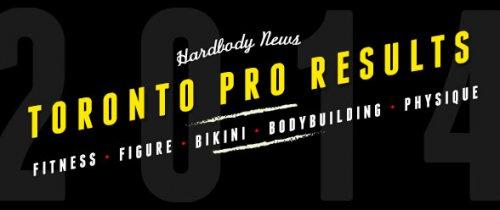 Результаты 2014 IFBB Toronto Pro Show