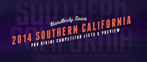 Список участниц 2014 IFBB Southern California Pro Bikini
