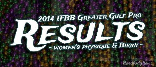 Результаты 2014 IFBB Greater Gulf Pro