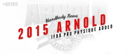 Arnold Classic 2015: добавлен класс Pro Physique
