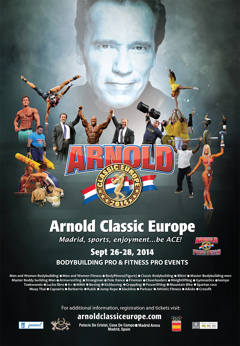 nel backstage dell'arnold classic europe 2014...