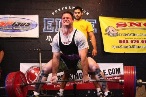 Становая тяга в тяжелой атлетике