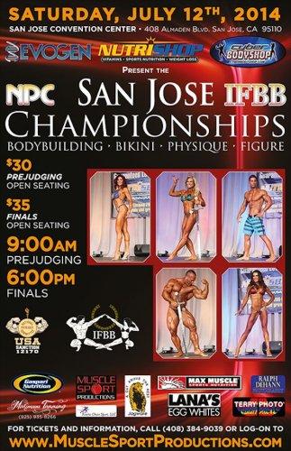 Списки участников 2014 IFBB San Jose Pro