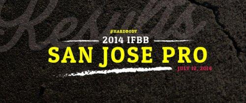 Результаты 2014 IFBB San Jose Pro Championships