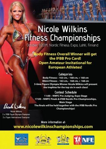 Анонс NICOLE WILKINS CHAMPIONSHIP & EXPO 2014