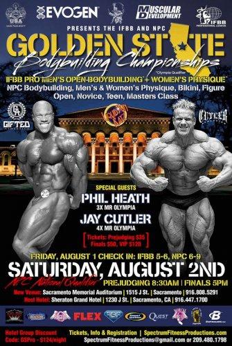 Анонс 2014 Golden State Bodybuilding Championships