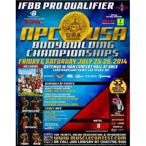 Афиша NPC USA 2014