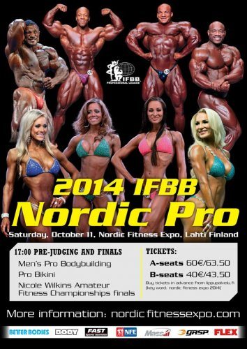 Афиша 2014 Nordic Pro