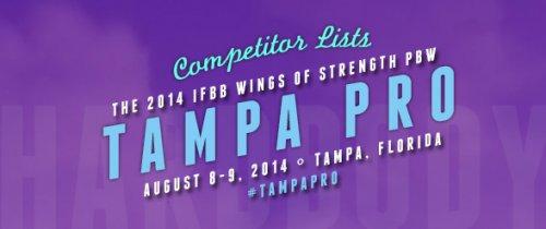 Список участников 2014 IFBB Tampa Pro