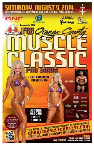 Опубликован список участниц 2014 IFBB Orange County Pro Bikini